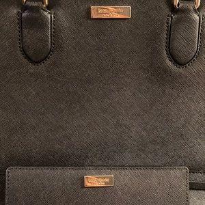 kate spade Bags - BLACK KATE SPADE ♠️ PURSE AND MATCHING WALLET SET